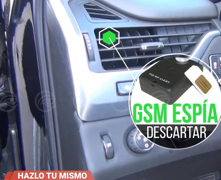 espionaje en el coche